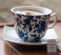 Tea cup. Photograph by Morgan Sessions.