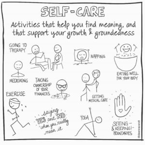 Self-care comic by Deanna Zandt, part 4